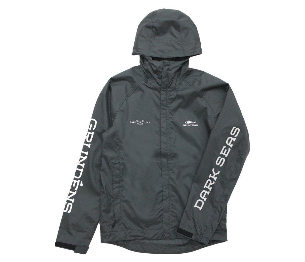 Dark Seas x Grundens Weather Watch Jacket Green