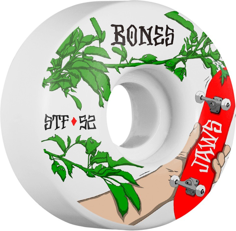 Bones STF V1 Homoki Forbidden 52mm Wheel Set