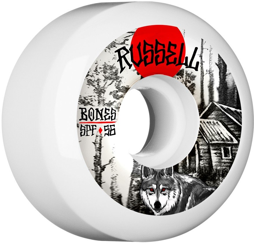 Bones SPF P5 Russell Cabin 56mm Wheel Set