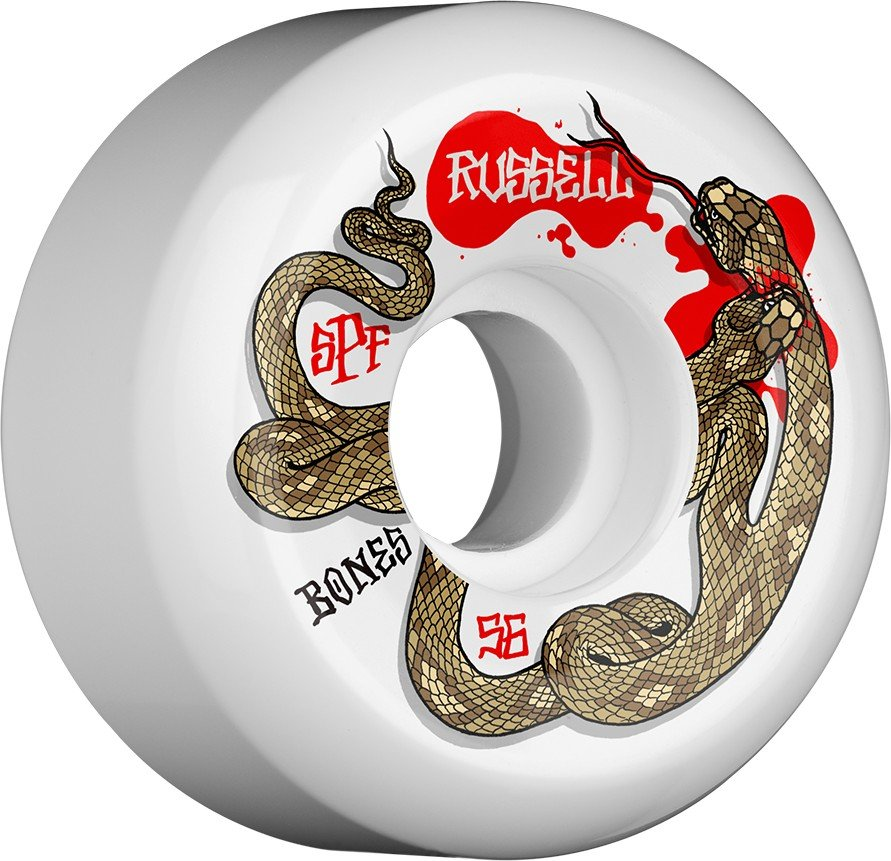 Bones SPF P5 Russell Snake Bites 56mm Wheel Set
