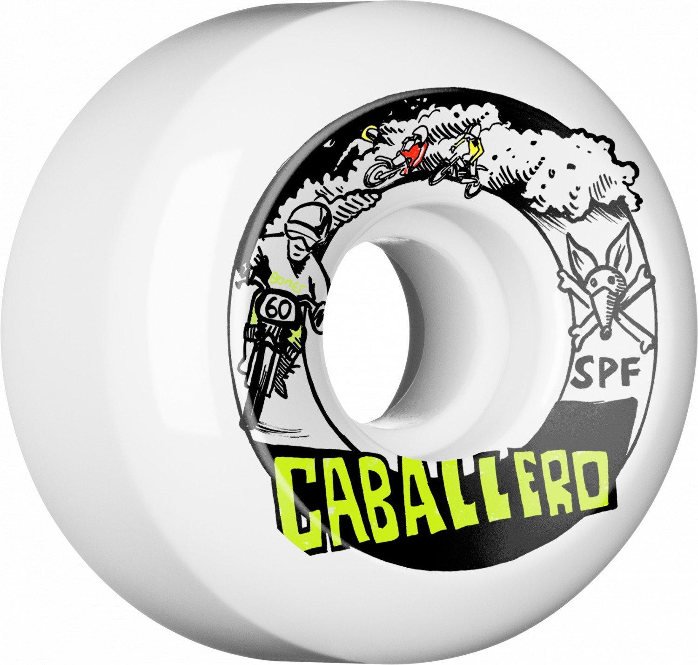 Bones SPF P5 Caballero x Blender Moto 60mm Wheel Set White