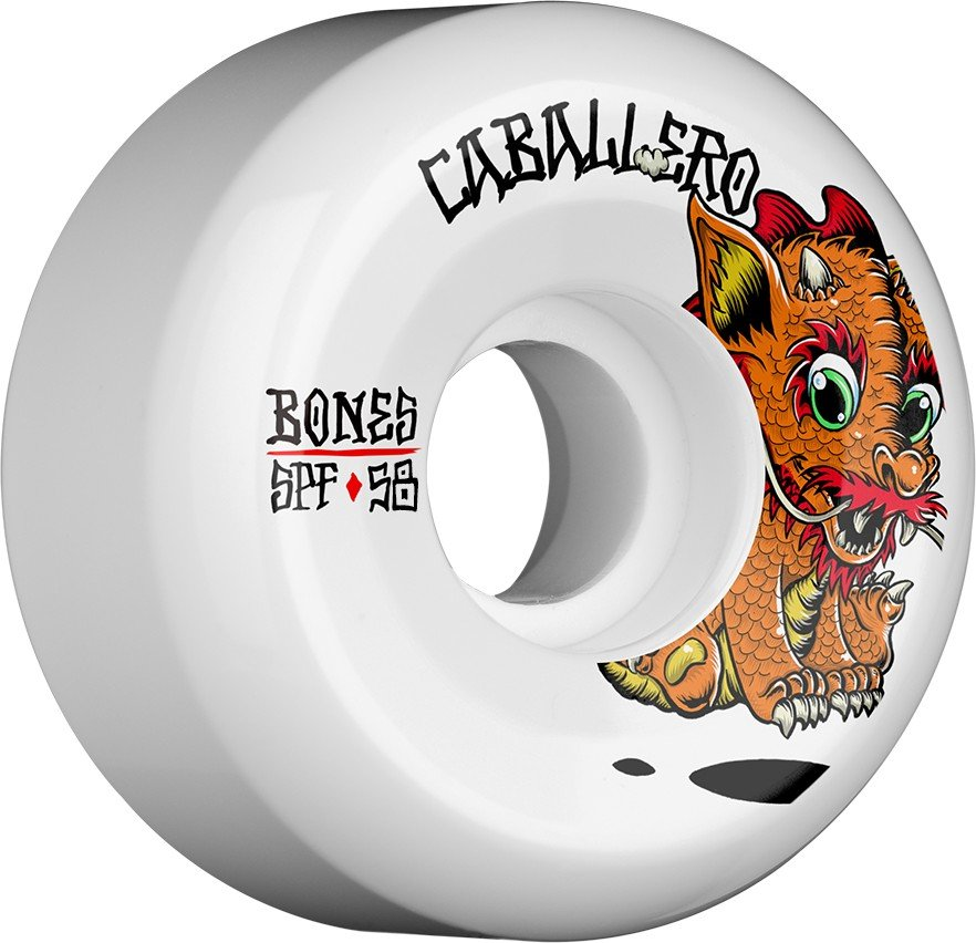 Bones SPF P5 Caballero Baby Dragon 58mm Wheel Set