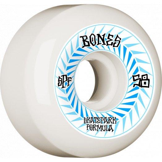 Bones SPF Spines Sidecut 58mm Wheel Set 84B
