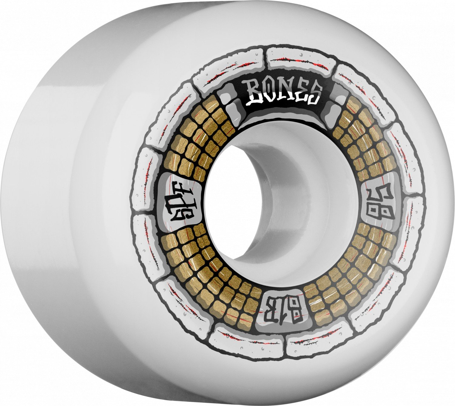 Bones SPF P5 Deathbox 58mm Wheel Set 81b