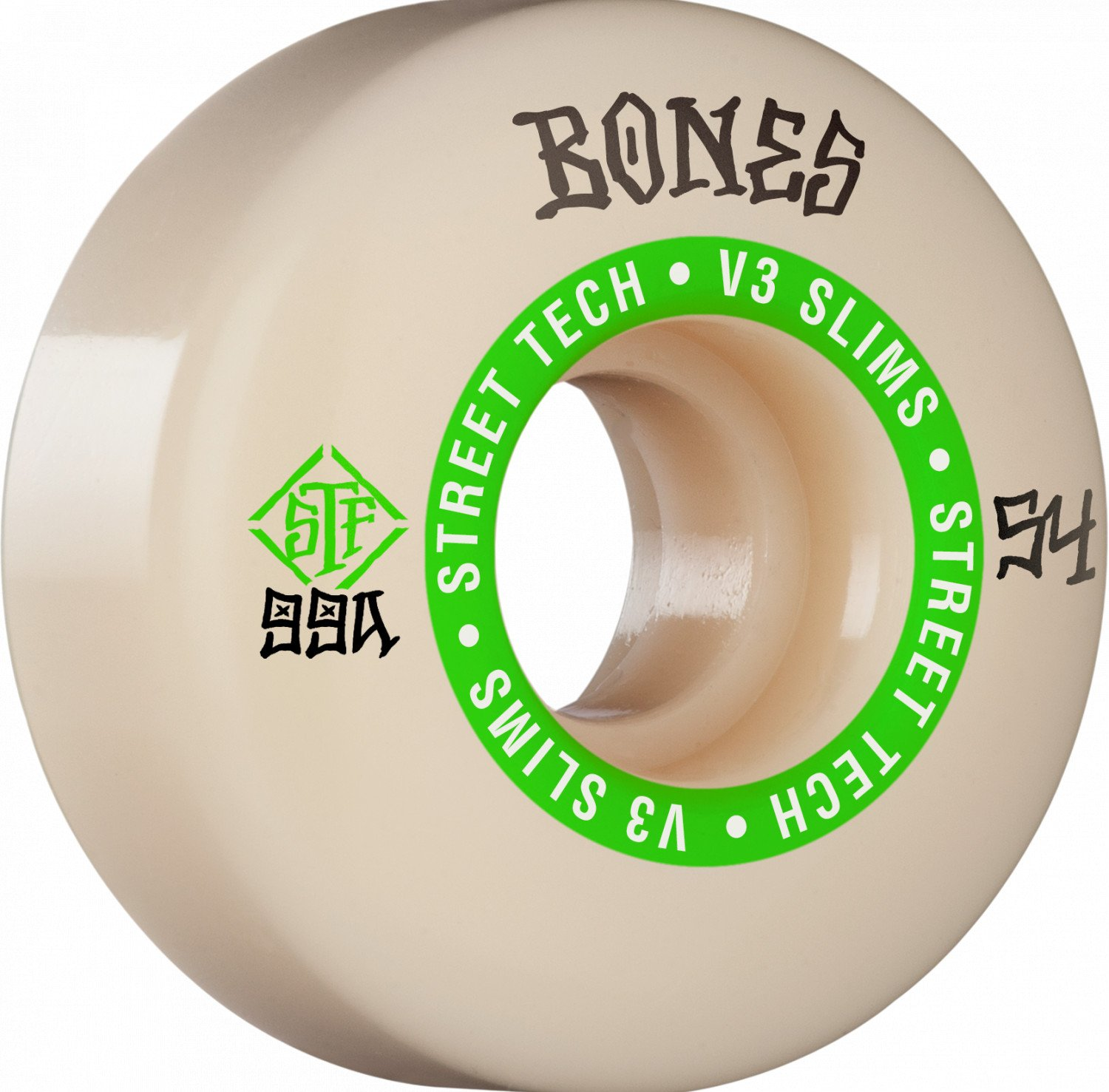 Bones STF V3 Ninety-Nine 54mm Wheel Set