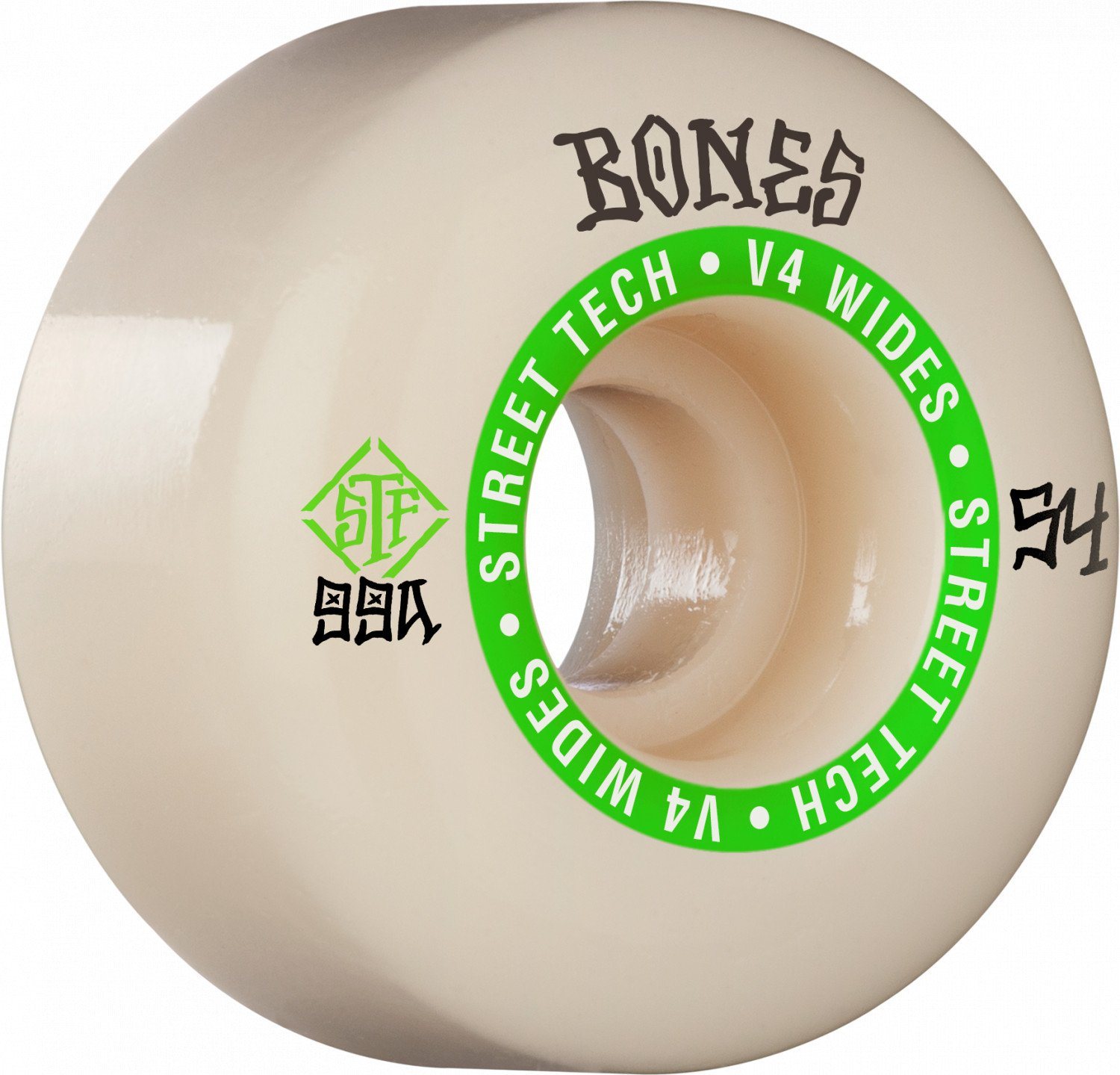Bones STF V4 Ninety-Nines 54mm Wheel Set 99a