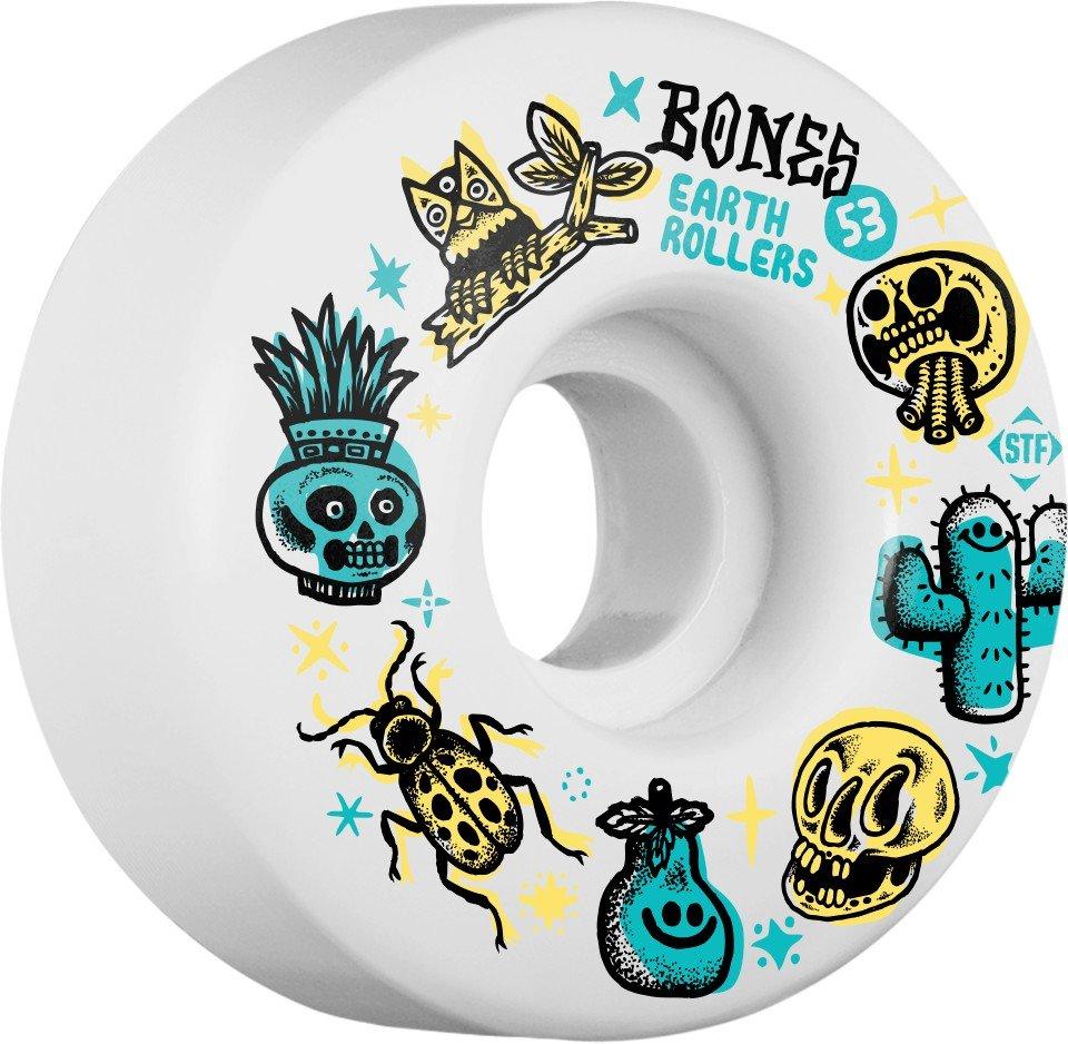 Bones STF V1 Sieben Earth Rollers 53mm Wheel Set
