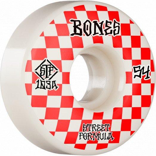 Bones STF V3 Patterns Slims 54mm Wheel Set 103A