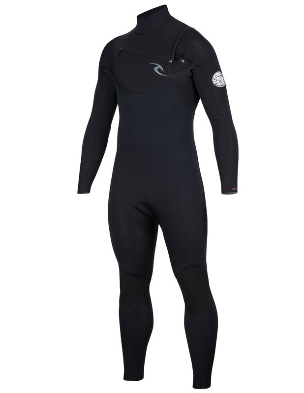 Rip Curl Dawn Patrol Chest Zip 3/2 Black