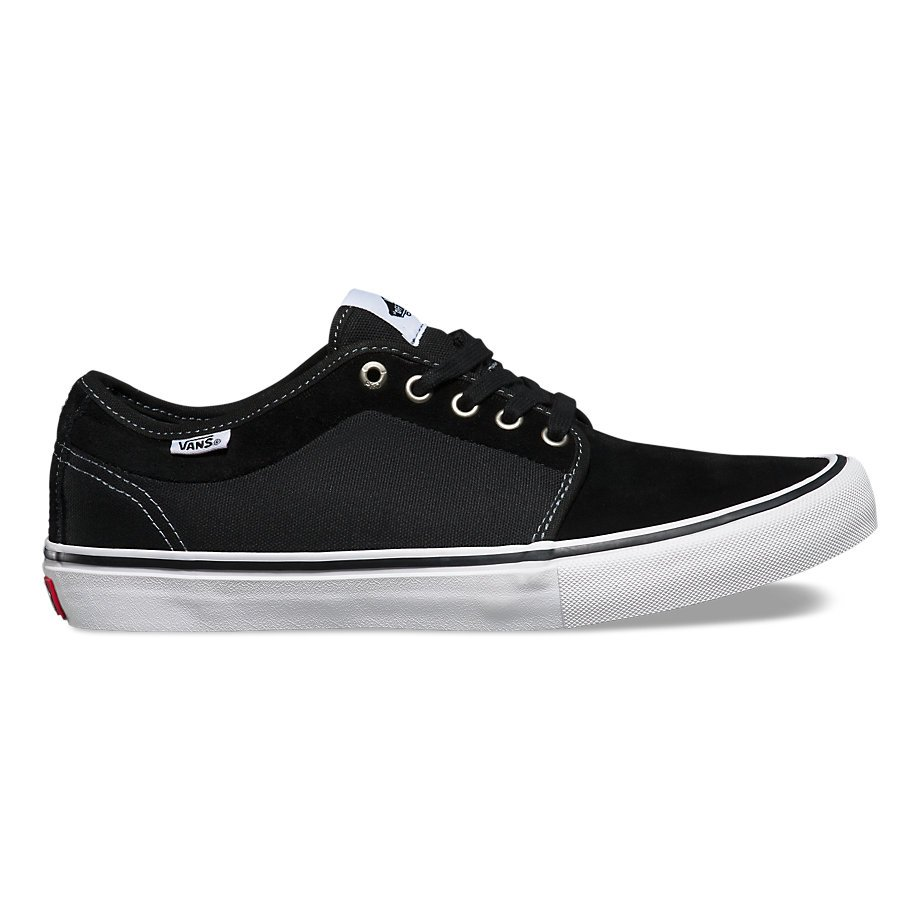 Vans Chukka Low Pro Shoe Black/White