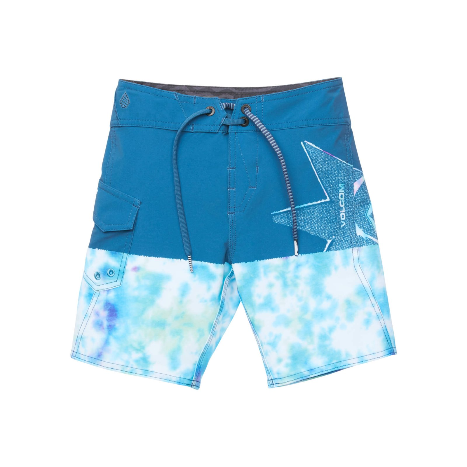 Volcom Boys Lido Block Mod Boardshort Multi