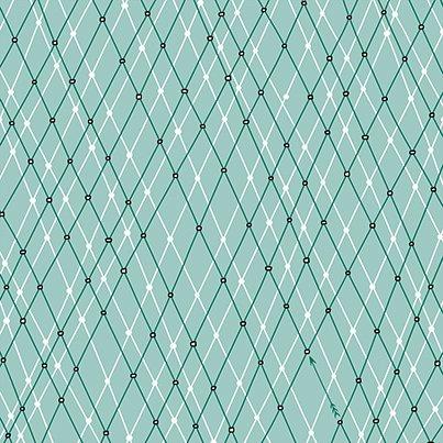 Mingle and Jingle - Linear Argyle - Medium Wintergreen