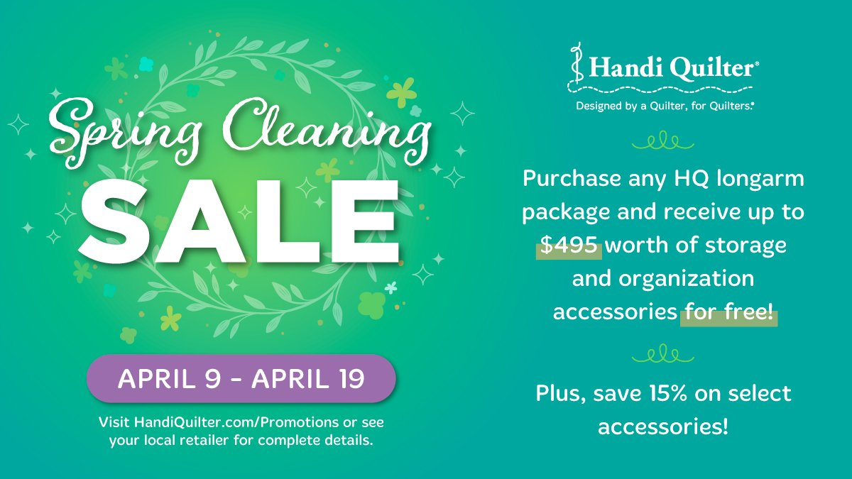 spring clearing sale