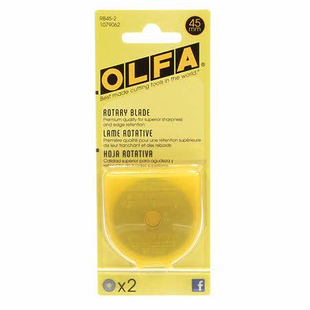 Olfa Rotary Blade 45mm 2pk