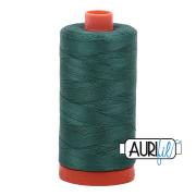 Aurifil 1050-2805 Light Grey Turquoise