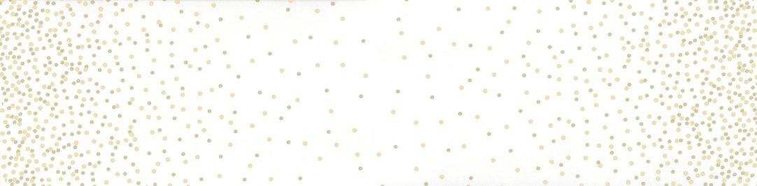 108 Wide Ombre Confetti - Off White