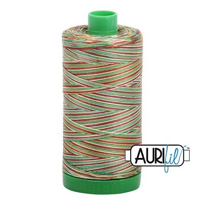 Aurifil Variegated 40wt 1140-4650 Leaves