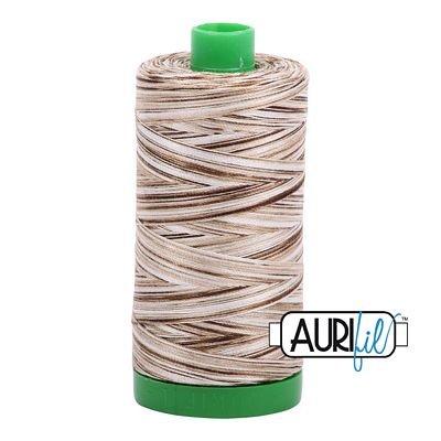Aurifil Variegated 40wt 1140-4667 Nutty Nougat