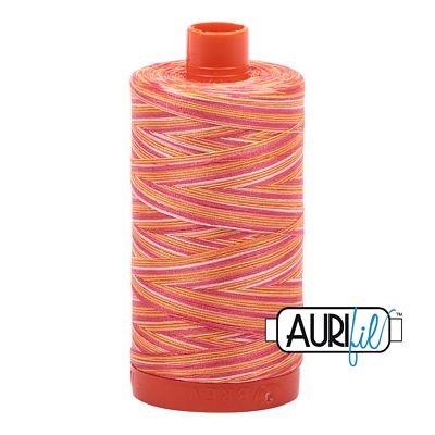 Aurifil Variegated 50wt 1150-4657 Sunset
