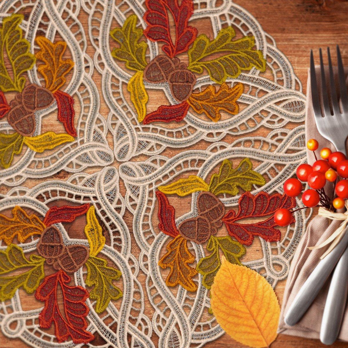 Autumn Buildable Doilies