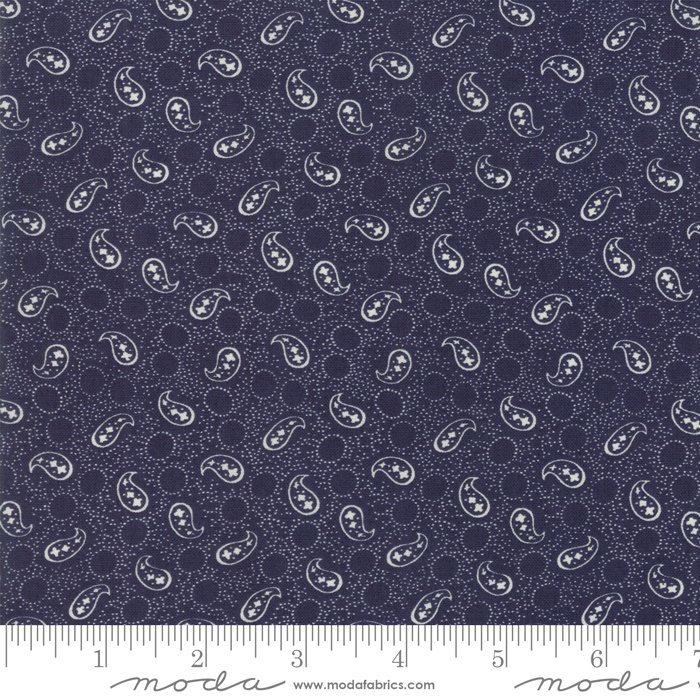 Indigo Gatherings - Petite Paisley - Navy