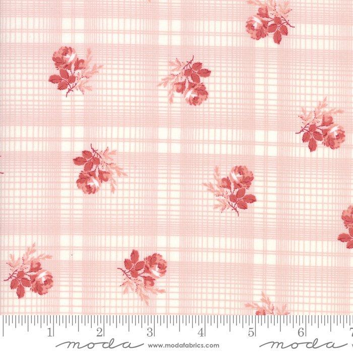Mackinac Island - Printed Plaid - Rose