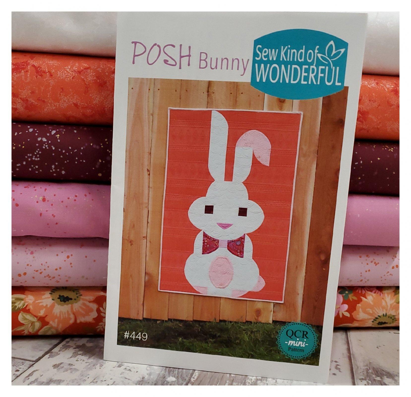 Posh Bunny Quilt Kit