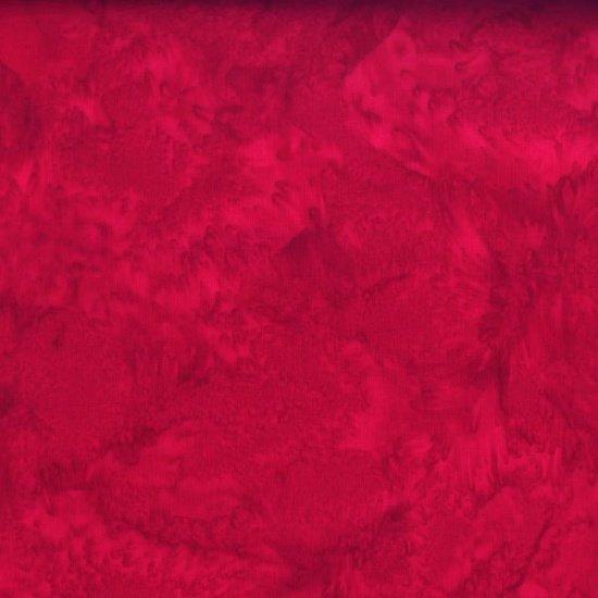 Bali Batik - Watercolors - Cardinal