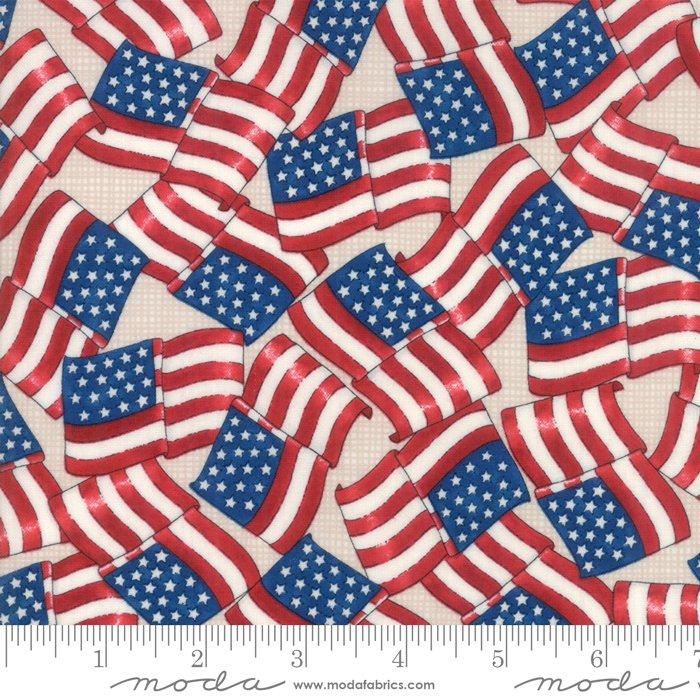 Land That I Love - Waving Flags - Barnwood White