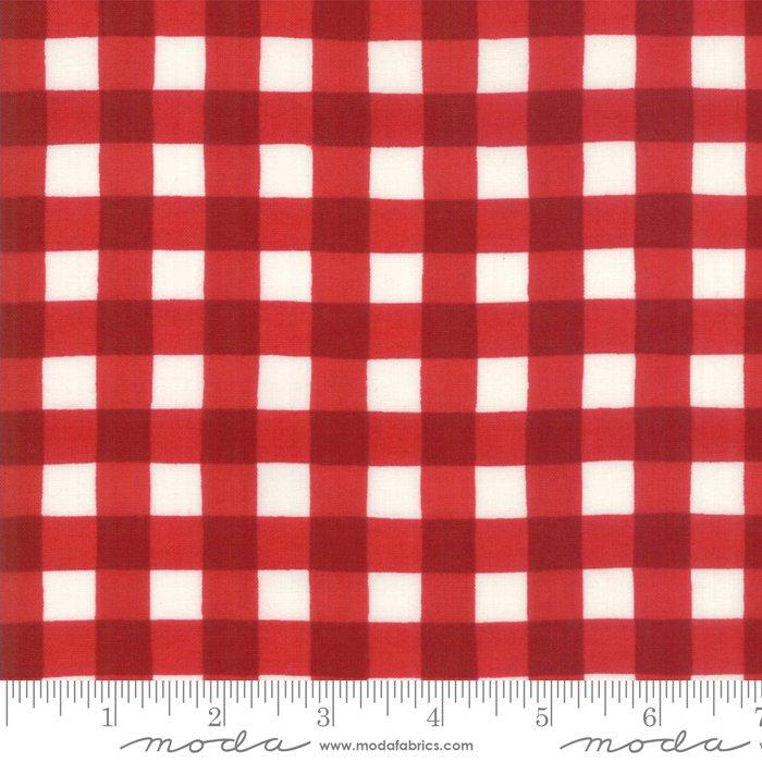 Land That I Love - Plaid - Patriotic Red