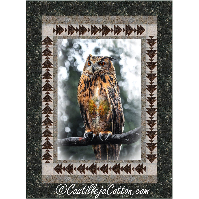 Hootie Owl Quilt Kit