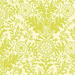Zola - Damask - Cream/Light Green