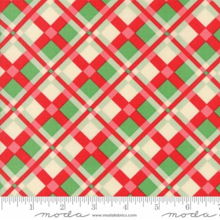 Swell Christmas - PVC Coated - Red and Green