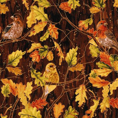 Autumn Air - Birds and the Breeze - Mahogany