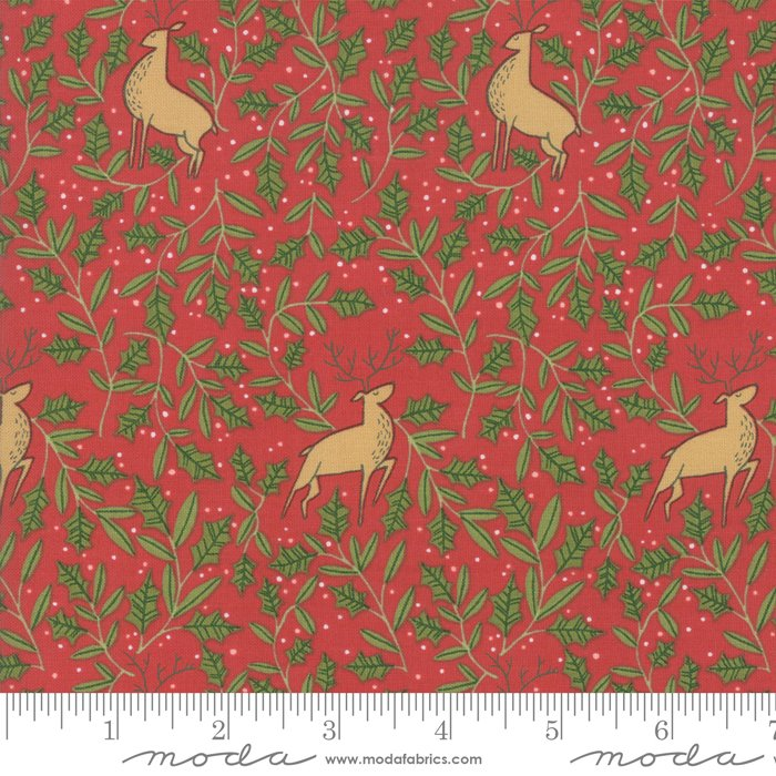 To Be Jolly - Holly Deer - Berry