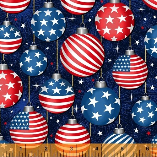 Christmas USA - Oranaments - Blue