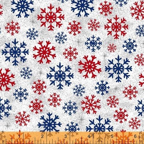 Christmas USA - Snowflakes - White