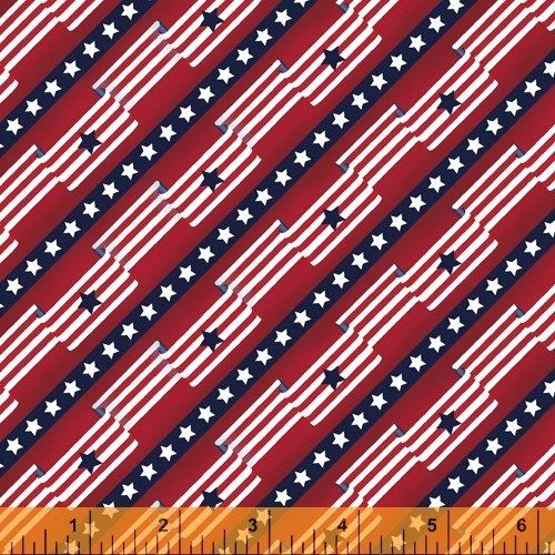 Pride & Honor - Flag Stripe - Red