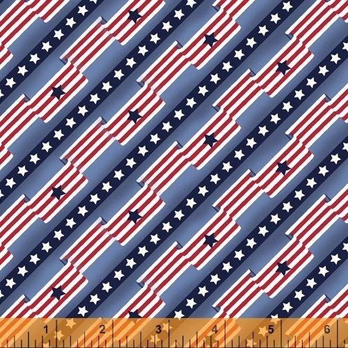 Pride & Honor - Flag Stripe - Blue