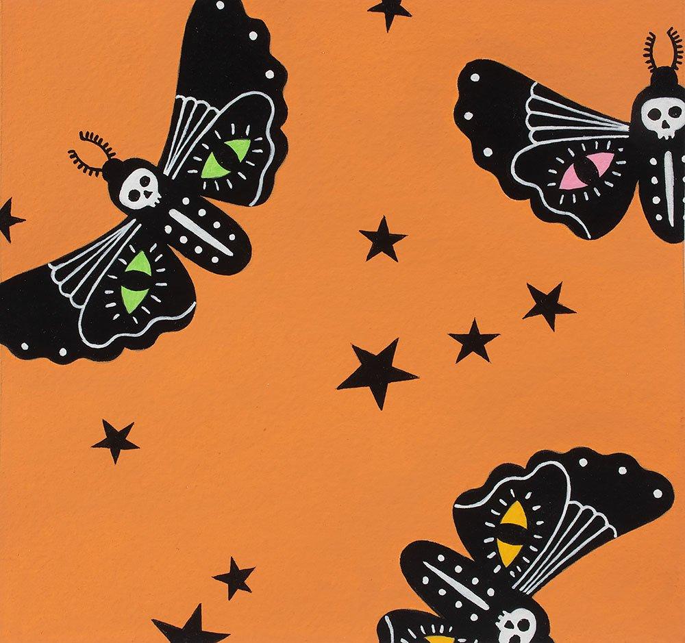 Moon Moth - Orange