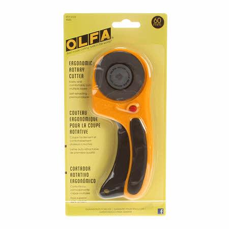 Olfa Ergonomic Rotary Cutter 60mm