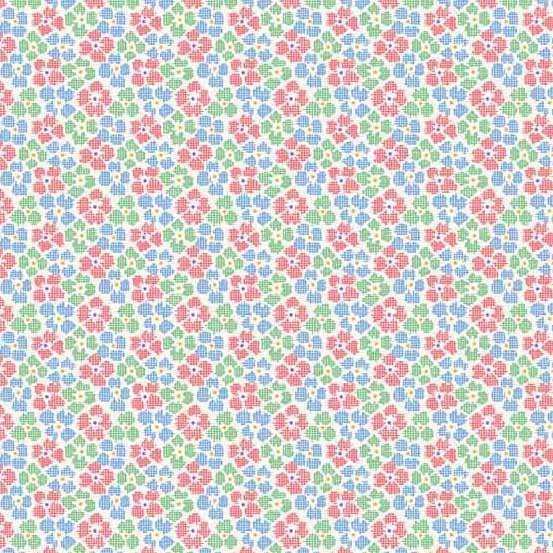 Adeline - Chex Flowers - Green