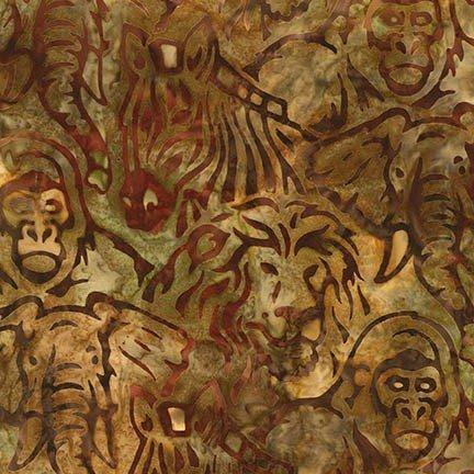 Artisan Batiks - Kalahari 6 - Wild