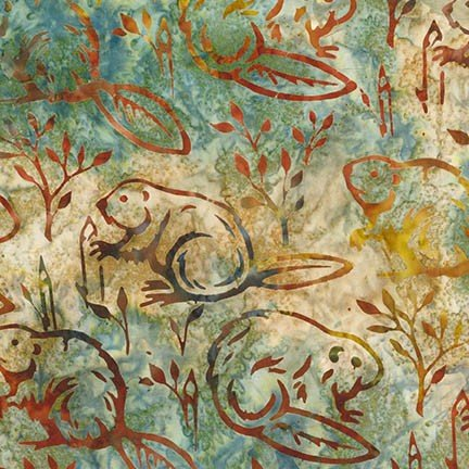 Artisan Batiks - Wildlife Sanctuary 4 - Nature
