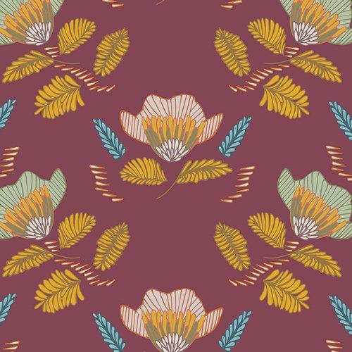 Autumn Vibes - Pressed Ablossom - Auburn