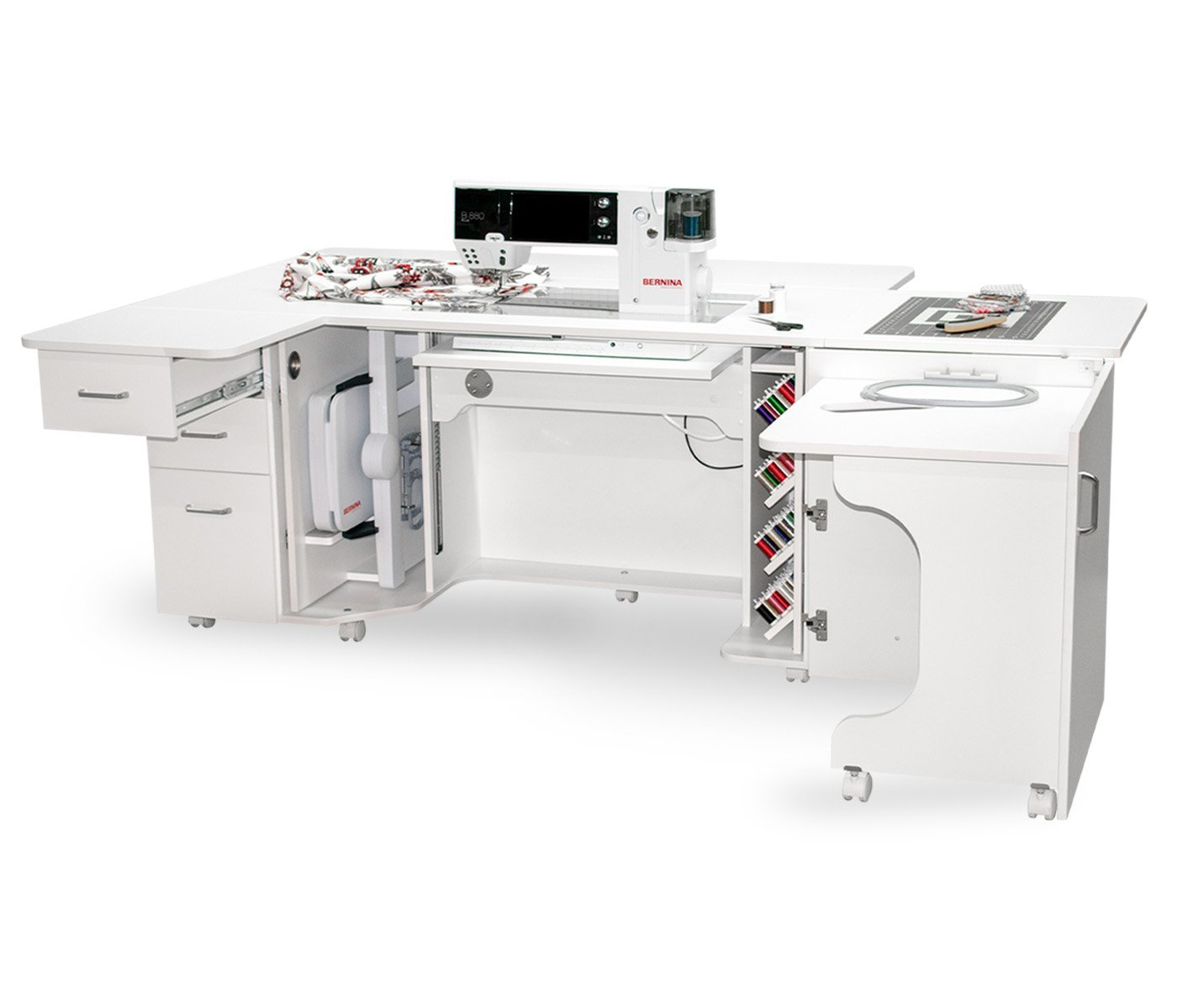 Bernina Luxe Sewing Suite by Horn White 5, 7 & 8 Series add shipping