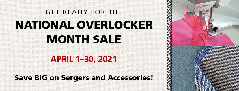 National Overlocker Month Sale