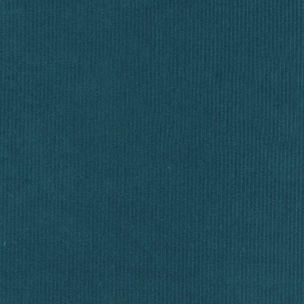 Corduroy 14 Wale - Ocean - 57 wide