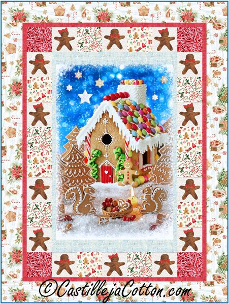 Gingerbread House Quilt Kit