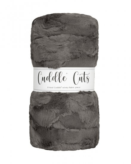 2 yd Luxe Cuddle Cut - Hide Charcoal